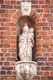 Westmeers 10 - staande Maria met Kind (koningin)