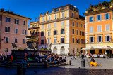 Piazza St Maria in Trastevere