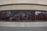Polka-dotted Hirshhorn Museum