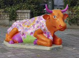 The Colorful Cows of Brussels