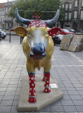 The polka-dot cow