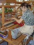 Minsa weaver, Ishigaki Island