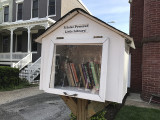 'A Solar Powered Little Library!'