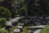 The Japanese-style garden