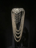 'Spectacular' exhibit, draping clasp and pearls