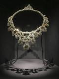 'Spectacular' exhibit, diamond bib necklace