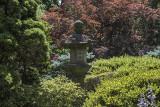 Lantern at the Japanese garden