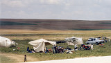 Migrant camp, GAP area