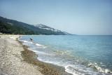 Black Sea beach in Yakakent