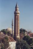 Antalya, fluted minaret mosque