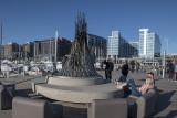 Bonfire at District Wharf