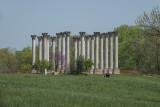 US Capitol columns at the arboretum