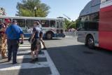 Bus gridlock