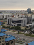 Astana, set in the middle of the Kazakh steppes