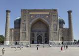 Sher-dor Madrasah, front, Samarkand