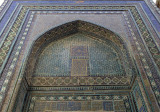 Shah-i-Zinda, mausoleum front, Samarkand