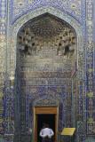 Shah-i-Zinda, mausoleum entry, Samarkand