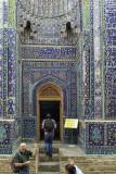 The selfie, Shah-i-Zinda, Samarkand