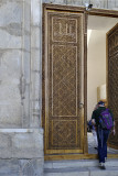 Door detail, Bibi-Khanym Mosque, Samarkand