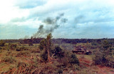 Operation Paul Bunyan - Napalm strike in the distance