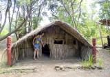 Maori sleeping hut