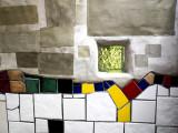 Hundertwasser Loo - detail