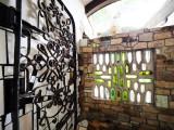 Hundertwasser Loo - bottle window