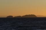 Motukahua Island at sunset