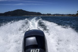 Looking back at Mt. Pauanui