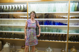 Antique Bottle collection at the Kauri Museum