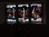 modern church glass