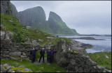 In front of  Kinnakloven, the Kinn cloven hoof......