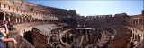 Panorama of the Colosseum....