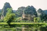 Bucolic scene at Tam Coc, Ninh Binh province