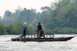 River traffic on the Mekong