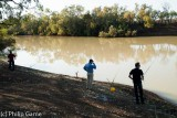 Fishing for yellowbelly on the Barcoo
