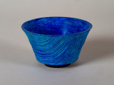 Small (3 inch) bowl with texturing and painting.