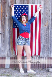 Alexis's Fourth of July Photoshoot