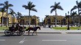 Horse Drawn Carriage at Plaza de Armas
