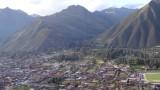 Overlooking Urubamba and The Sacred Valley