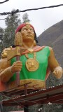 Huayllabamba Town Statue