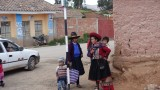 Street Scene on the outskirts of  Cusco