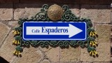 Calle Espaderos Street Sign