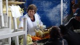Serving up lunch at Cusco San Pedro Market