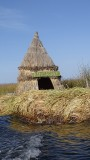 The floating islands of Peru's Lake Titicaca