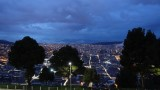 View of Quito at Night from El Panecillo