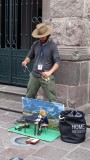 Quito Street Puppeteer