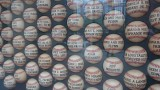 AT&T Virgin America Club Level Baseballs Display