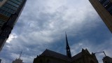 Angry Sky Over Grace Cathedral