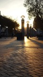 Civic Center Plaza Sunset